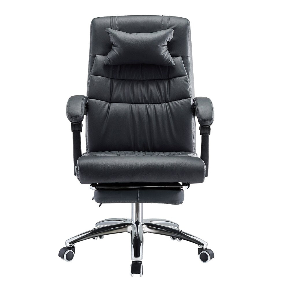 Executive Racing Gaming Adjustable Computer Office Chair with Recliner and footstool - bestgamingandoffice