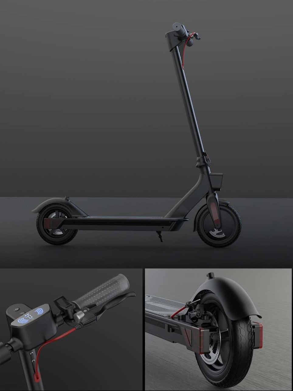 10.4AH Battery Electric Scooter 500W Scooter Smart Adult Electric Scooter Kick Scooter