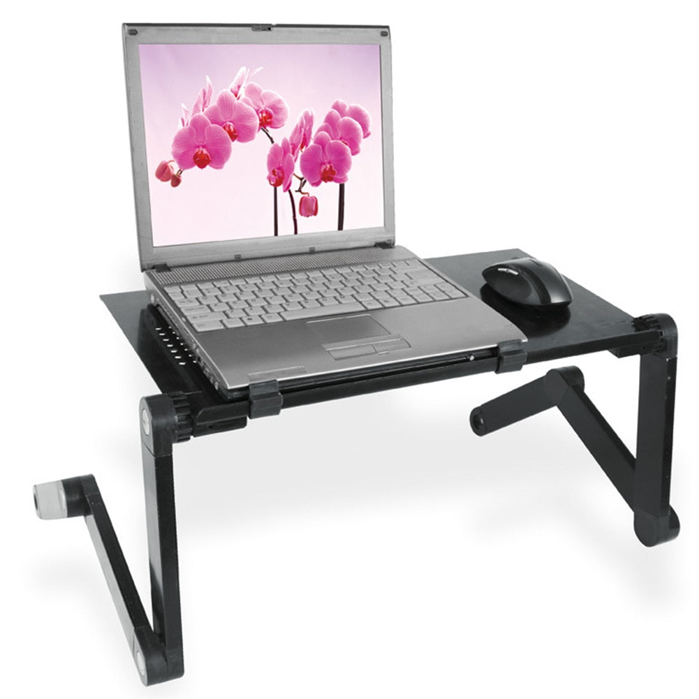 Adjustable Laptop Table Stand Folding - bestgamingandoffice