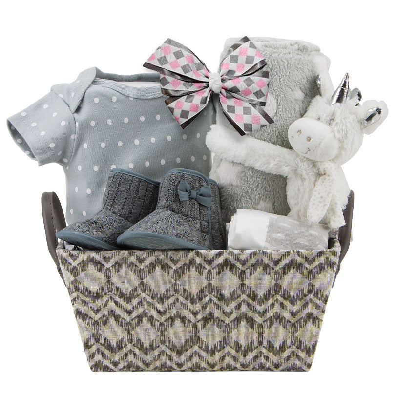 Baby Unicorn Gift Basket