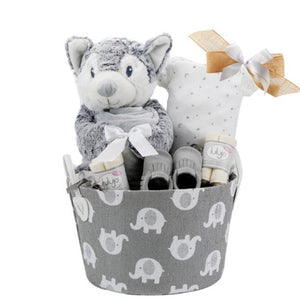 Little Elephant Gift Basket