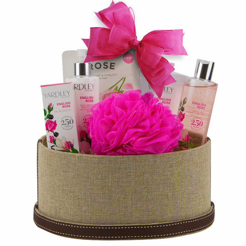 Yardley Rose Gift Basket