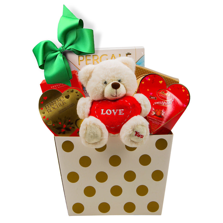Valentine's Gift with Bear