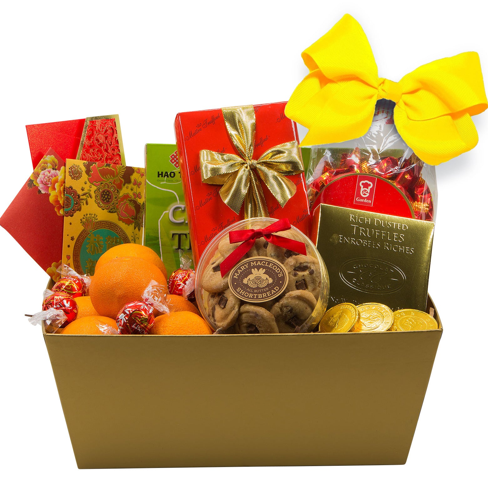 Traditional Elegance Chinese New Year Gift Basket