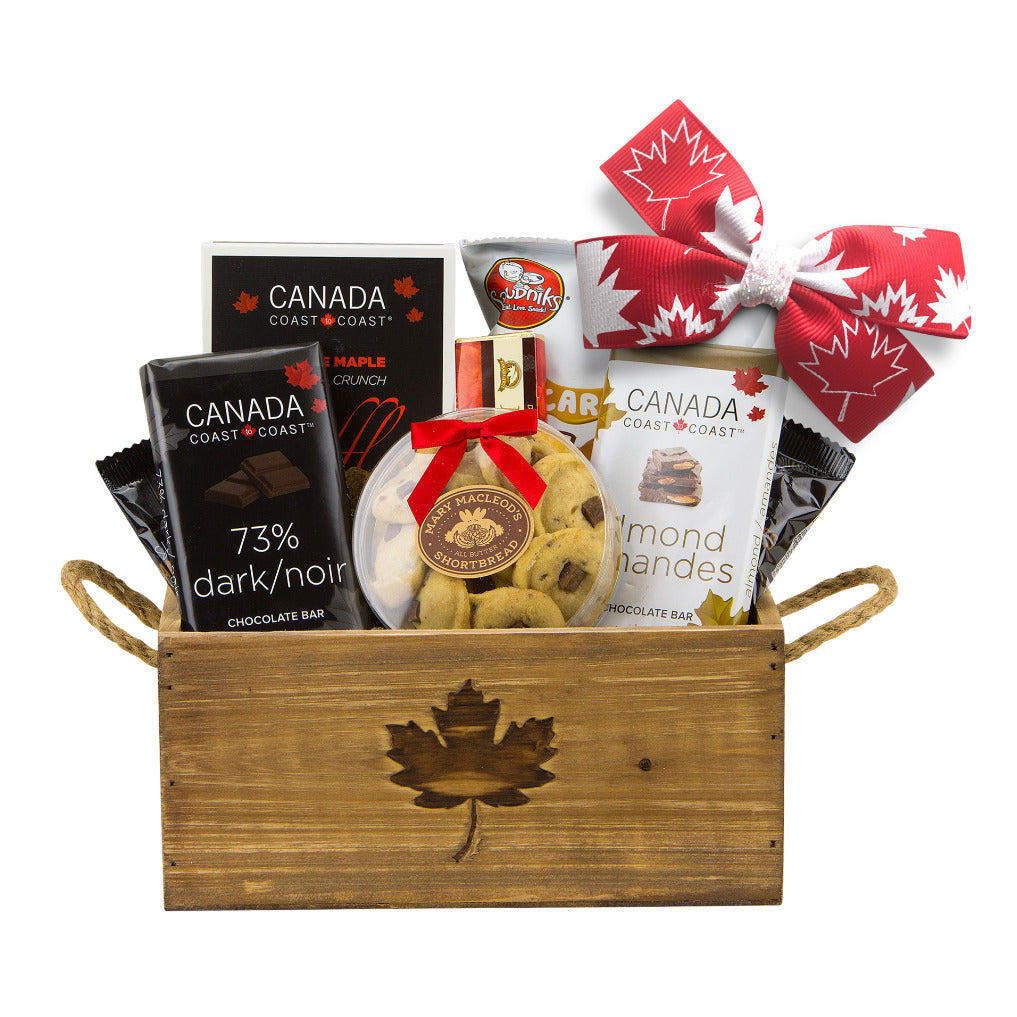 Made in Canada Gift Basket