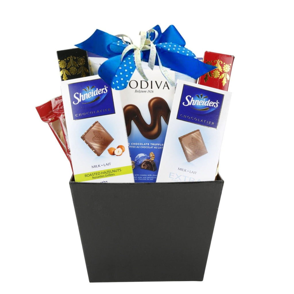 Blue Sensation Gift Basket