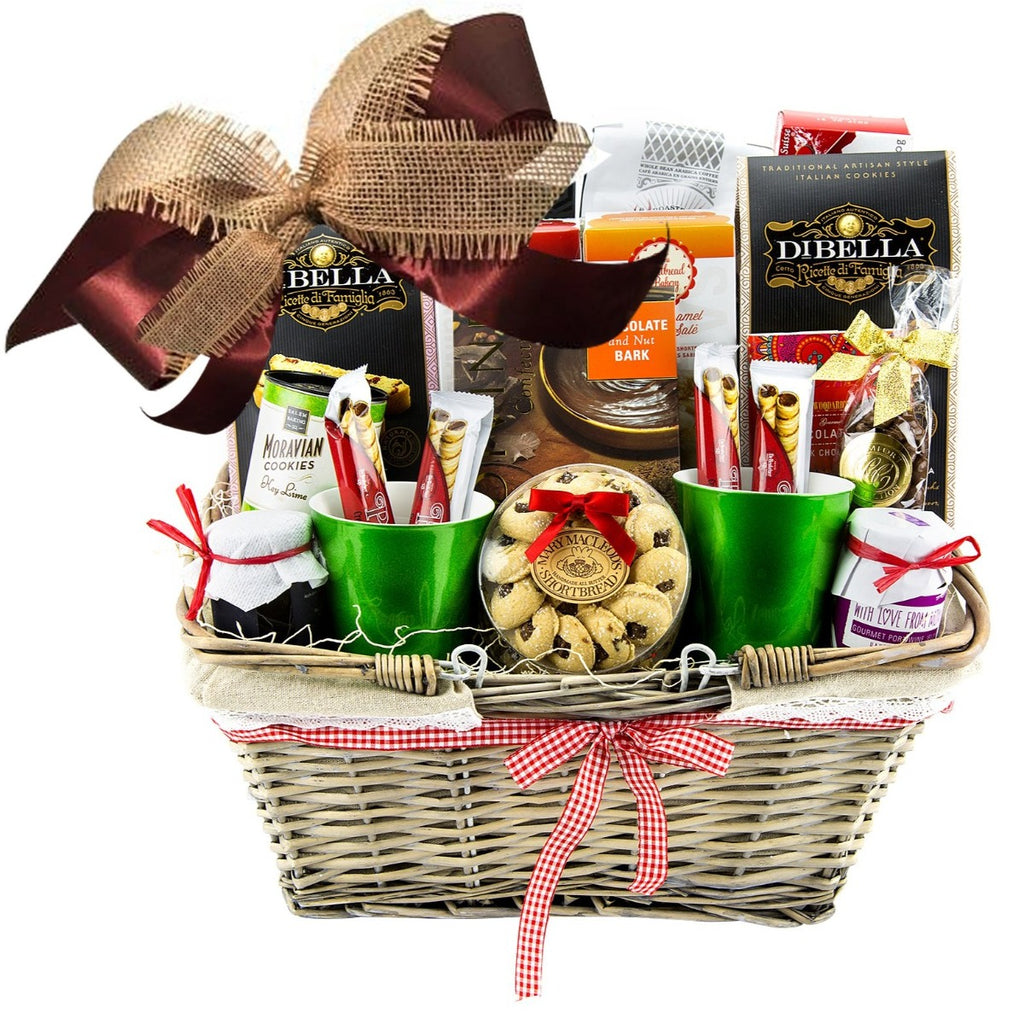 Coffee and Chocolate Gift Basket