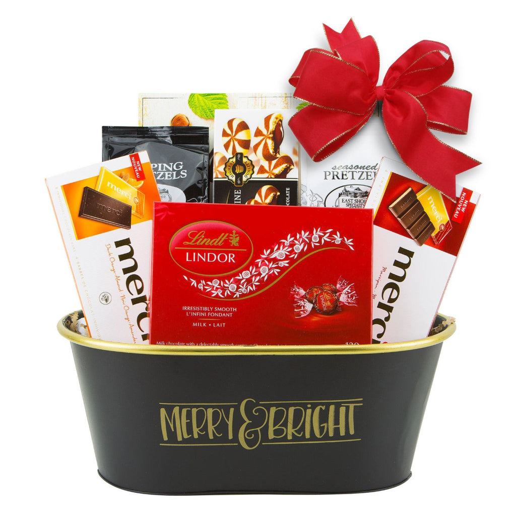Holiday Present Gift Basket