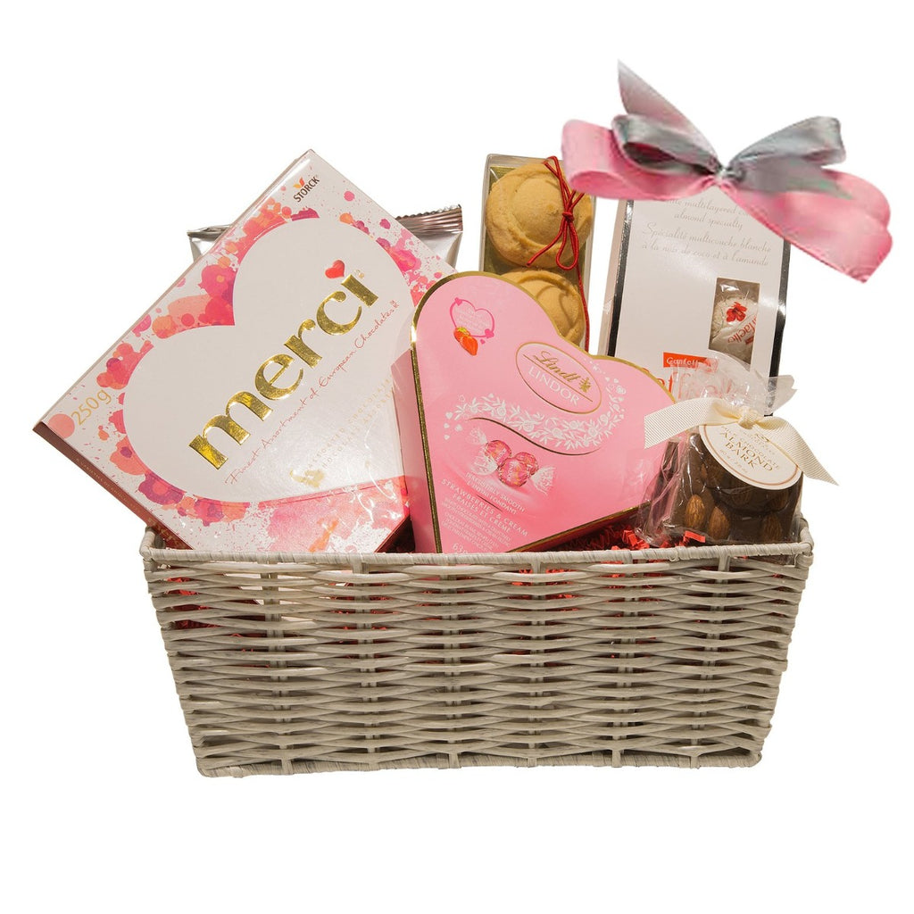 Valentine's Day Gift Basket - Chocolate