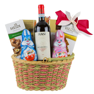 Easter Gift with Wine
