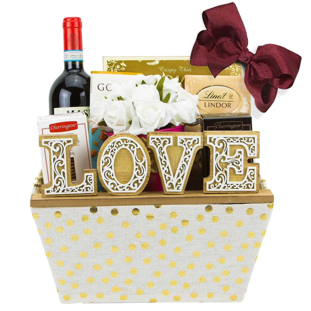 Father's Day Wine Gift Basket