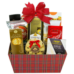 Gourmet Cheese Gift Basket