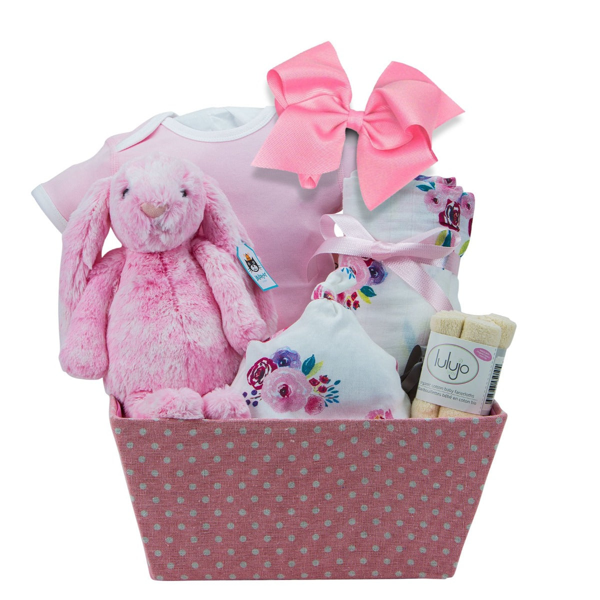 Special Baby Girl Gift Basket