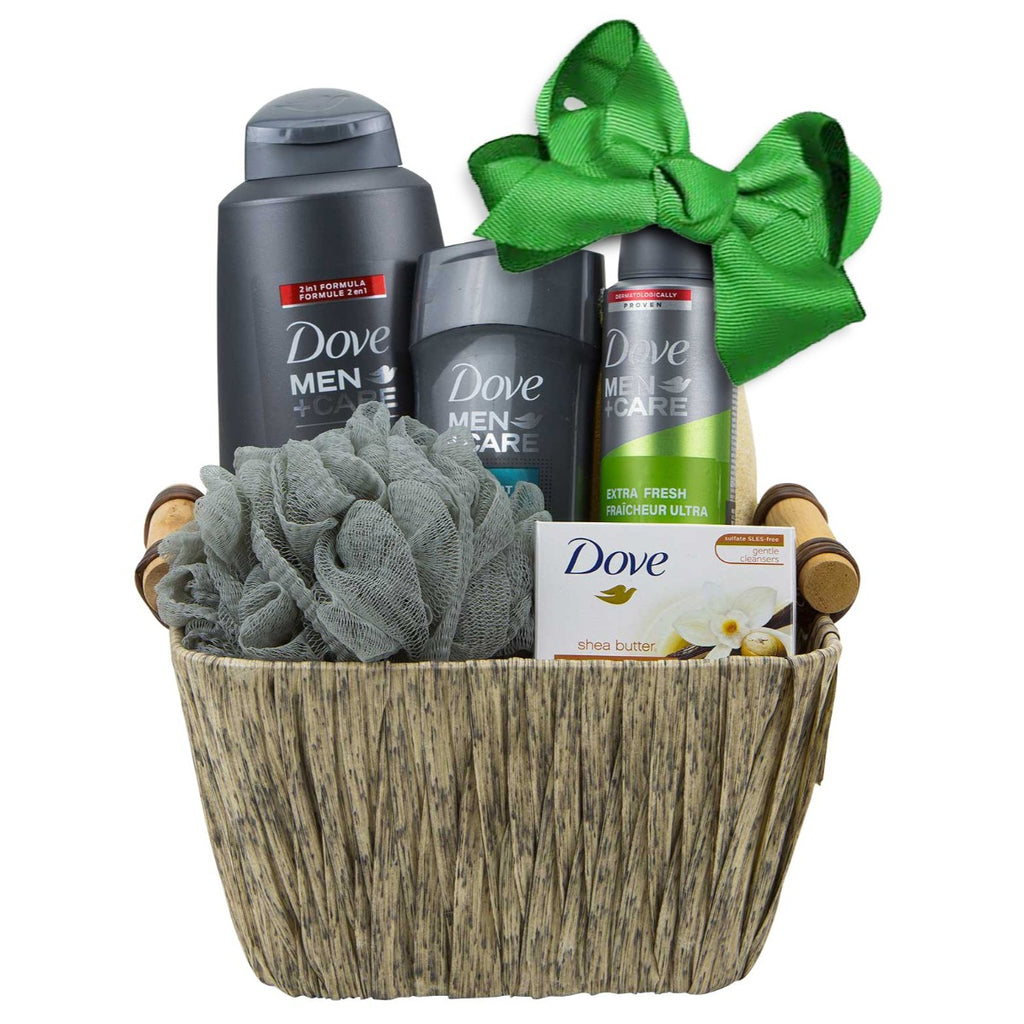 Dove Man Gift Basket