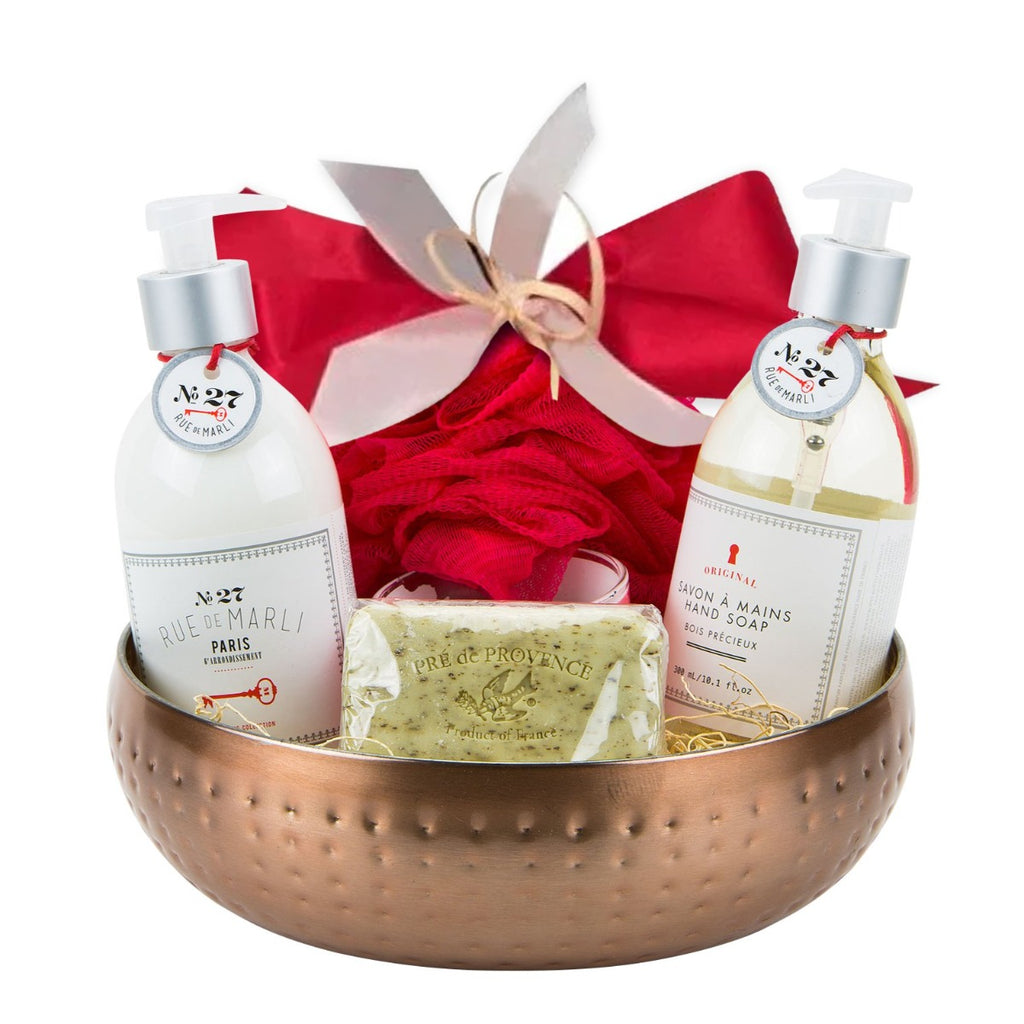 French Spa Gift Basket