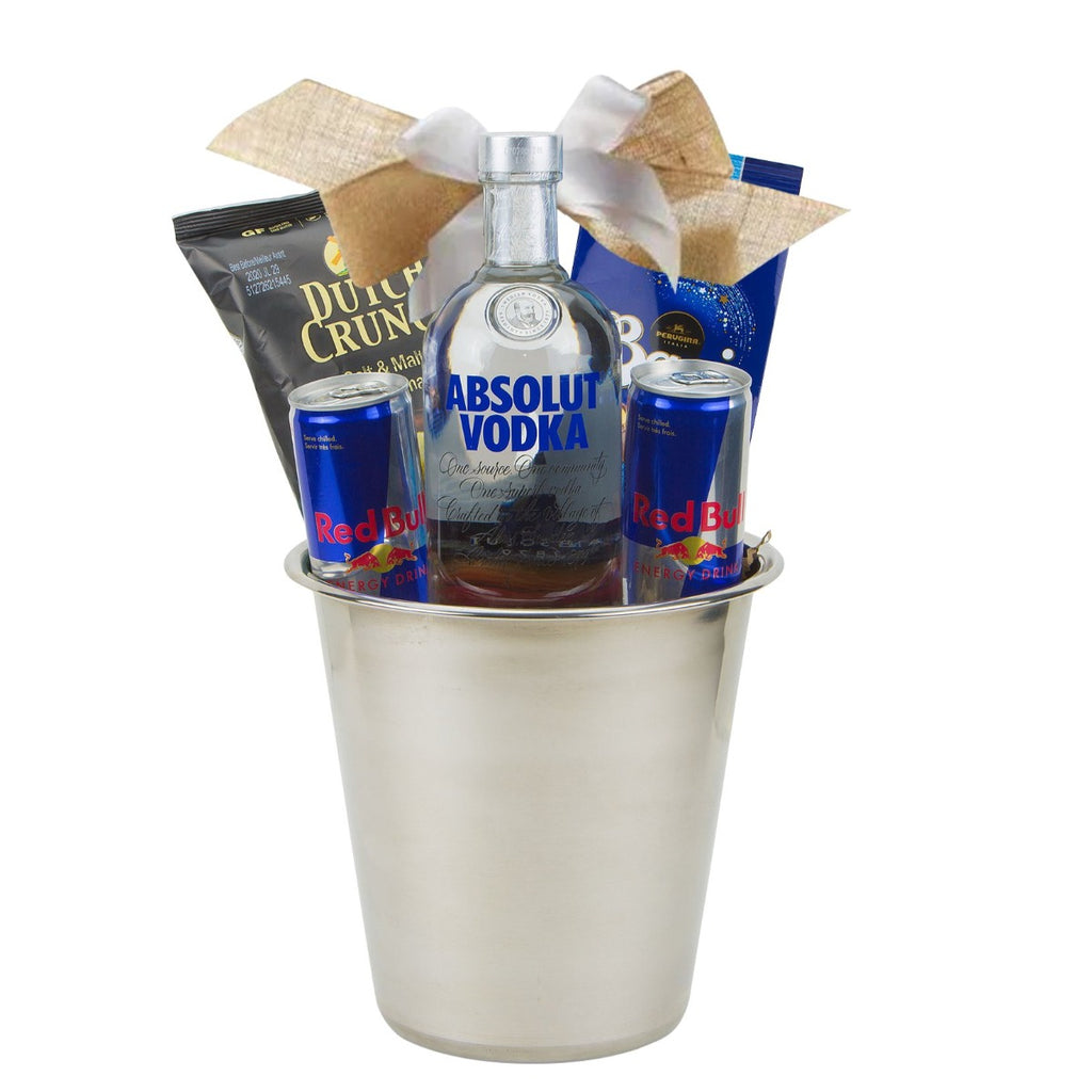 Vodka Red Bull Gift Basket