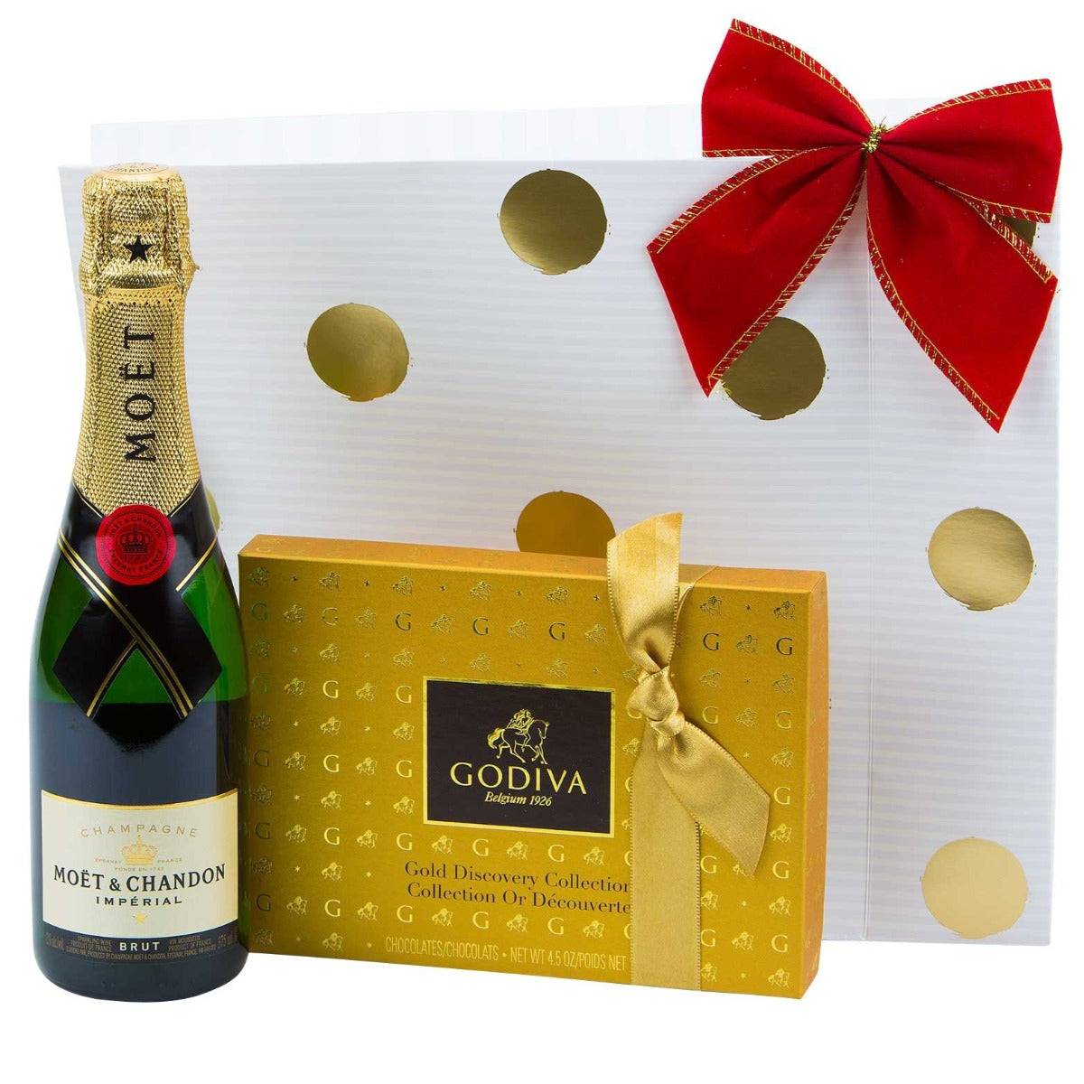 Godiva and Moet Gift Bag