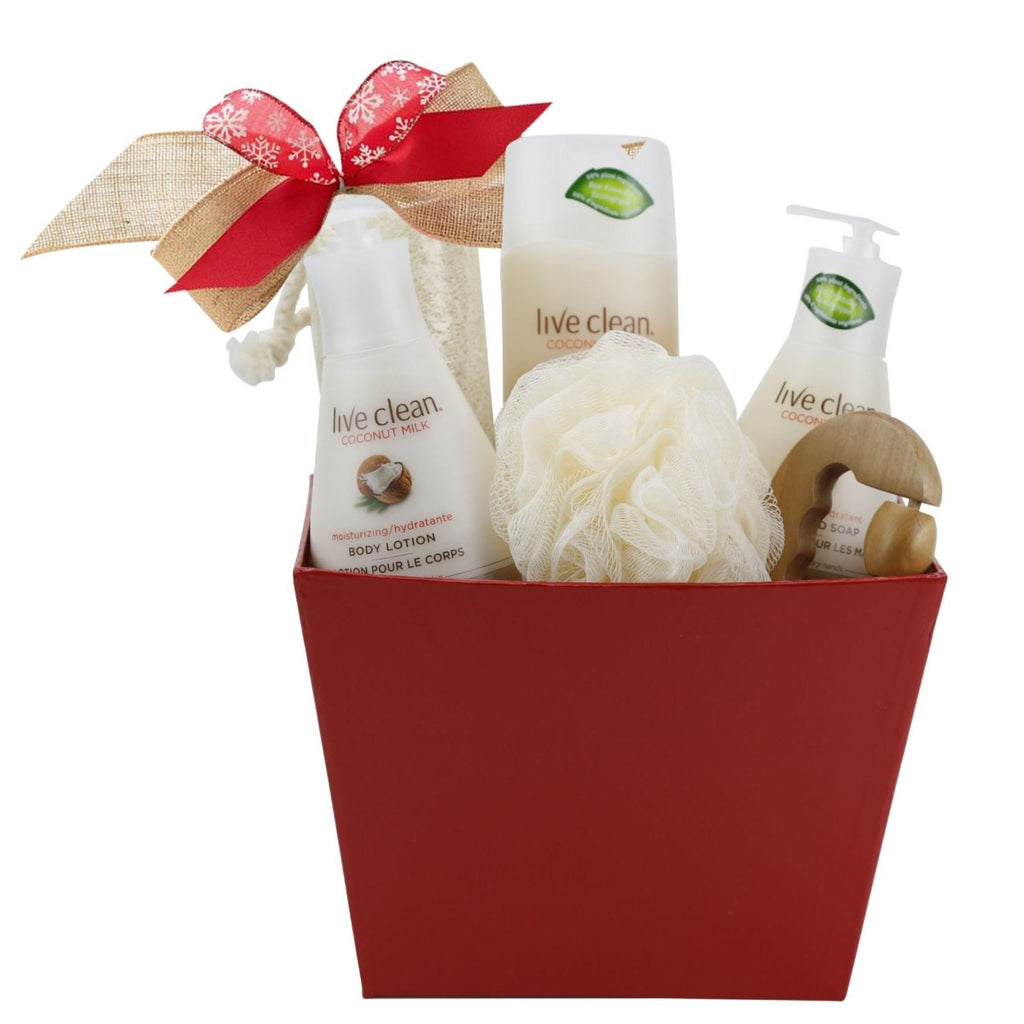 Live Clean Gift Basket