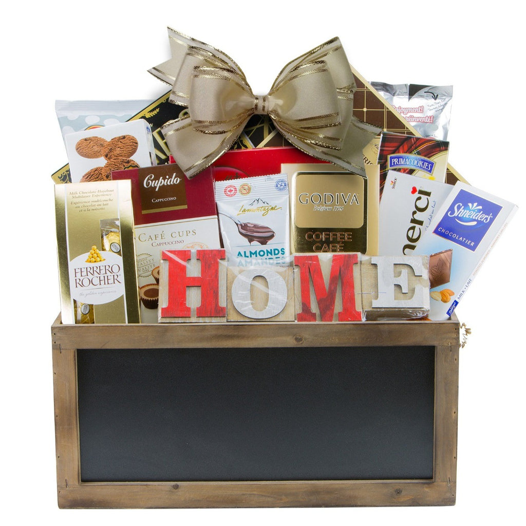 New Home Gift Basket