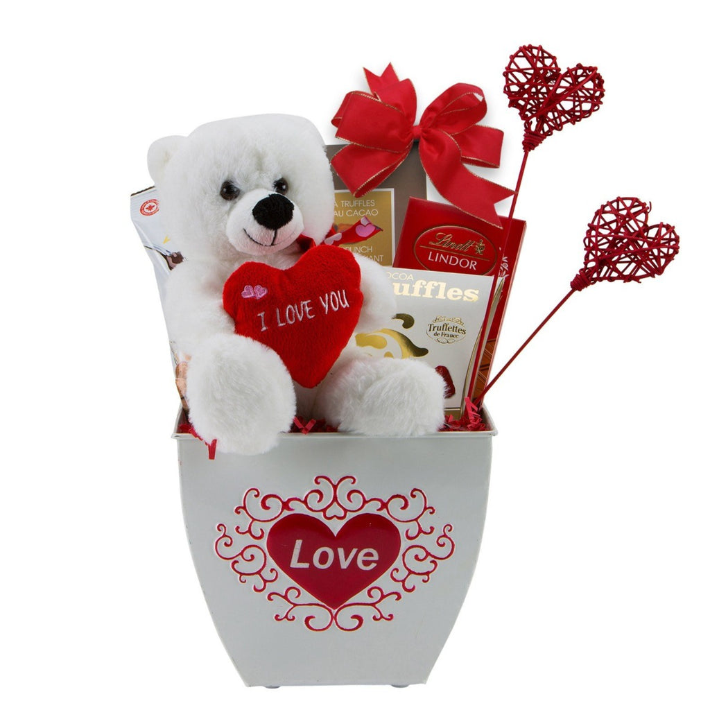 Valentine's Day Gift Basket - Red Power