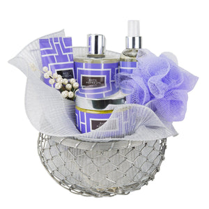 Valentine's Day Gift Basket - Silver Spa