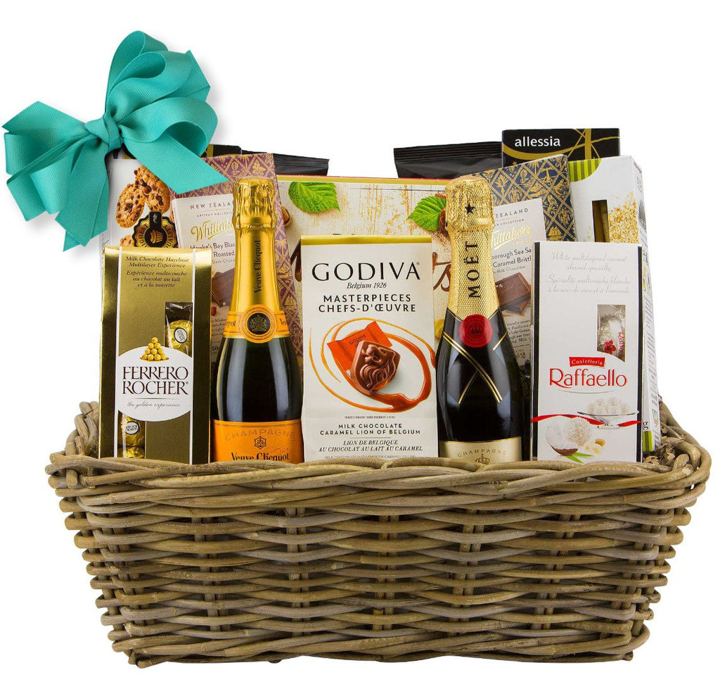 Champaigne and Chocolate Gift Basket