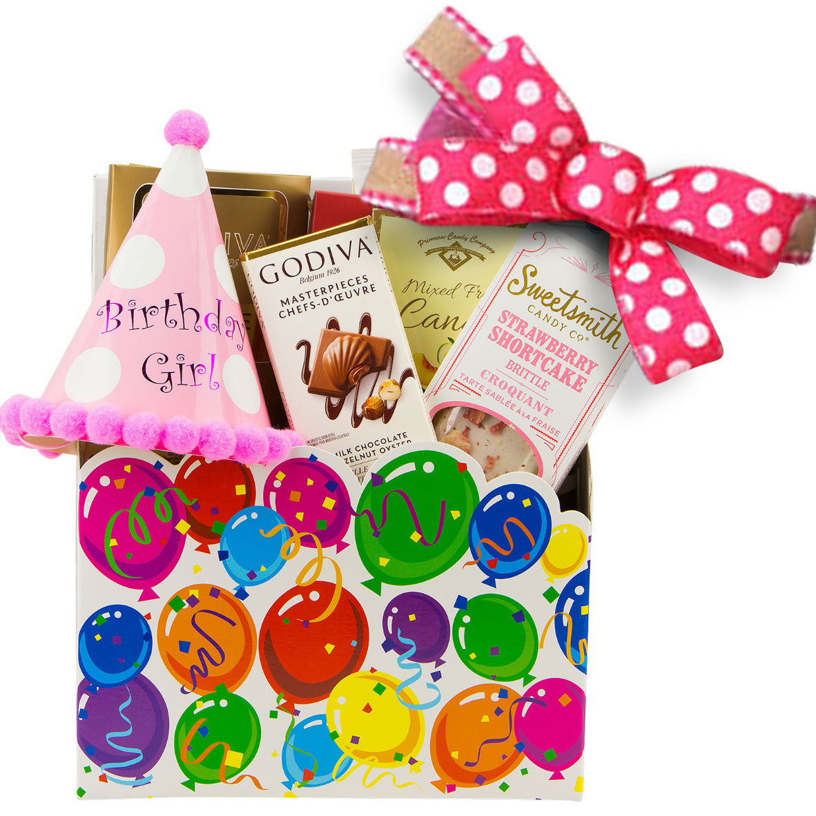 Birthday Girl Gift Basket