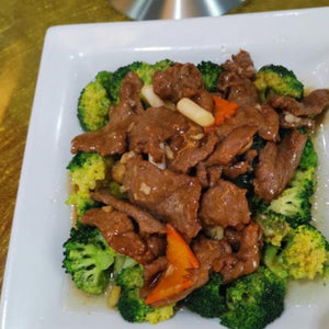 Beef with Broccoli Flower or Ampalaya