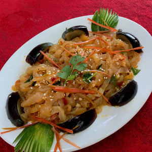 Seaweeds with Century Egg