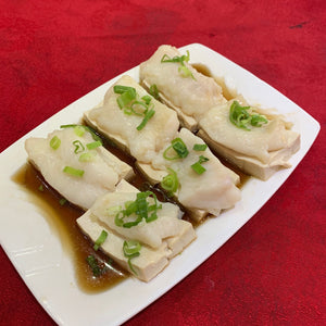 Steamed Fish Fillet with Beancurd Soy Sauce