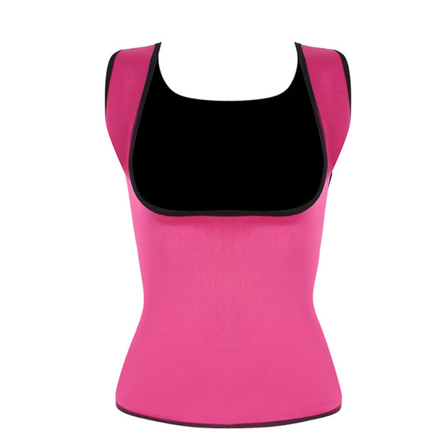 Plus Size Neoprene Sweat Sauna Body Shapers Vest Waist Trainer Slimming Vest Shapewear Weight Loss Waist Shaper Corset
