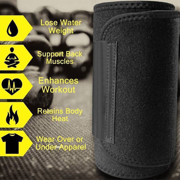 Waist Trainer Belt Women Men Body Shaper Suit Sweat Belt Premium Waist Trimmer Corset Shapewear Slimming Vest Underbust