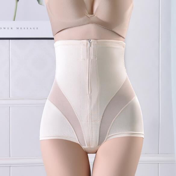 Women Sexy Body Shaping Wear Postpartum Ultra-Thin Belly Underwear High Waist Hip Stomach Abdomen Safety Underwear Pants