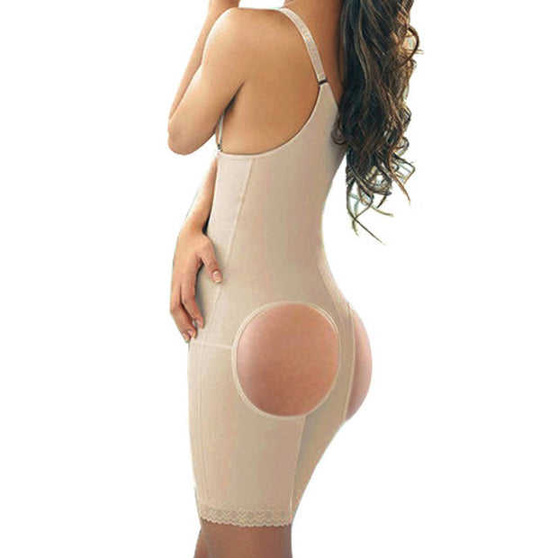 Butt lifter with tummy control slimming belt women waist Trainer corset Shaper wear belt fitness full body corsets Strap binder