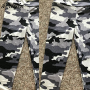 Women's Yoga Pants Camouflage Print Tight Slim sport leggings High waist Elastic Fitness Leggings