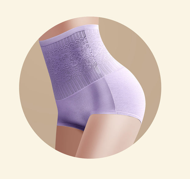 Women's High Waist Body Shaper Panties Seamless Butt Tummy Belly Control Waist Slimming Pants