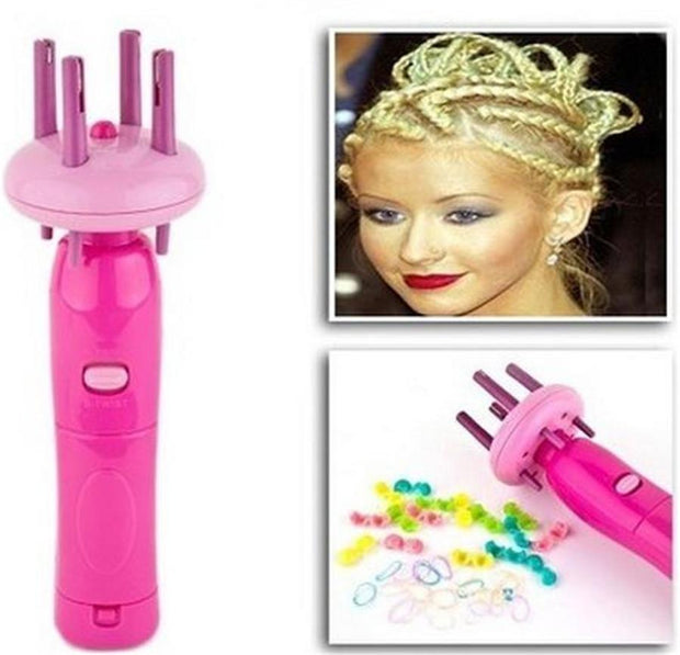 Automatic Twist Hair Braid Device