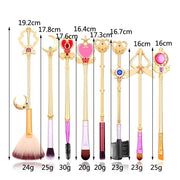 8 Sailor Moon Makeup Brushes