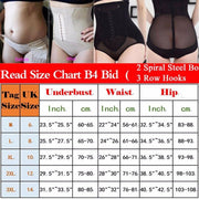 Women's High Waist Body Shaper Panties Seamless Butt Tummy Belly Control Waist Slimming Pants Shapewear Girdle Thin Abdomen Hips