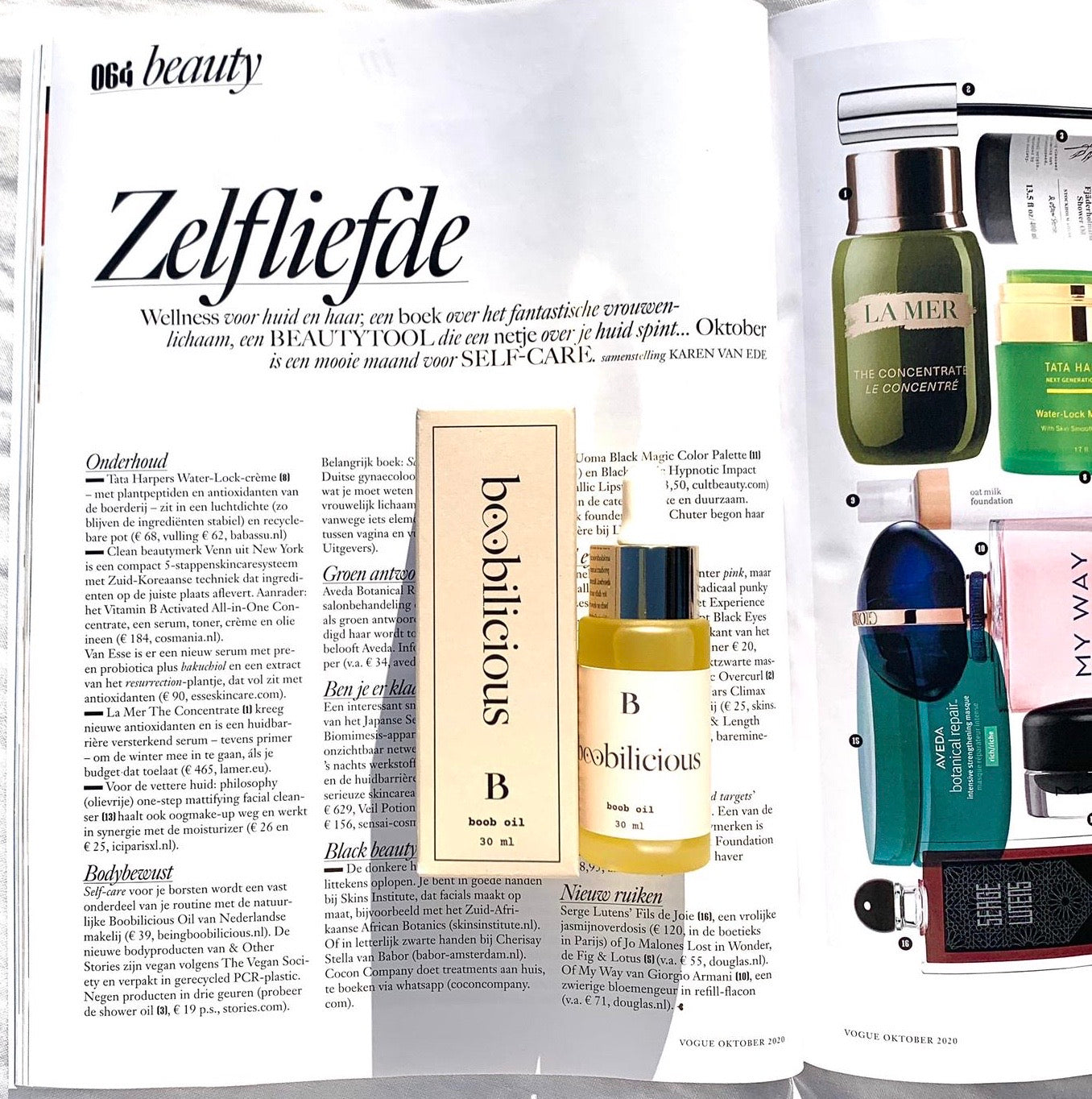 Boobilicious features in Vogue NL