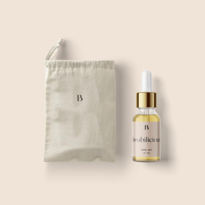 Boobilicious Oil + Travel Pouch