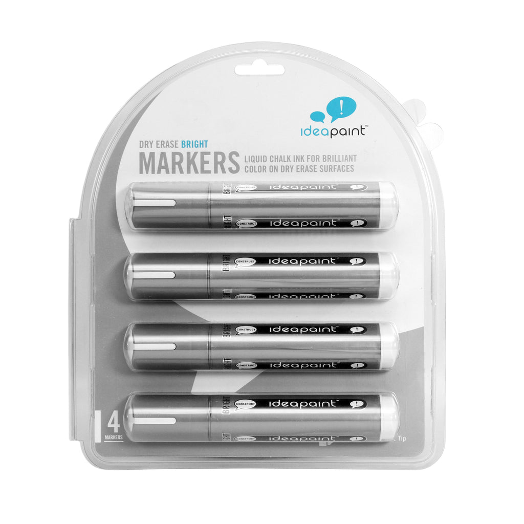 White 4-Pack Markers