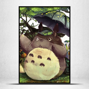 My Neighbor Totoro - 11CT Stamped Cross Stitch - 46x66cm