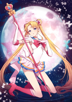 Sailor Moon -11CT Stamped Cross Stitch-48x65cm