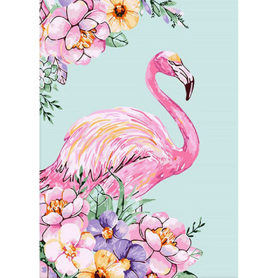 Flamingo - 11CT Stamped Cross Stitch - 48x65cm