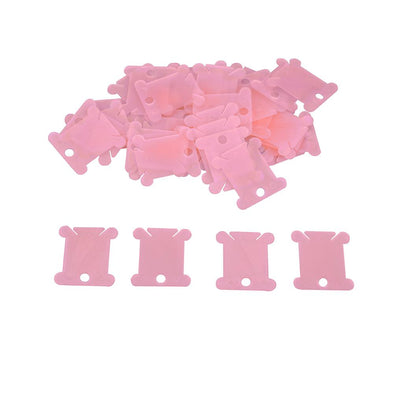 100pcs Plastic Bobbins Floss Holder - Cross Stitch Accessories