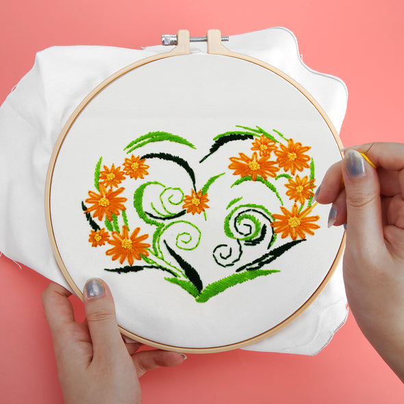 Dream Flower - Embroidery - 25x25cm