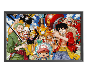 One Piece - 11CT Stamped Cross Stitch - 78x58cm