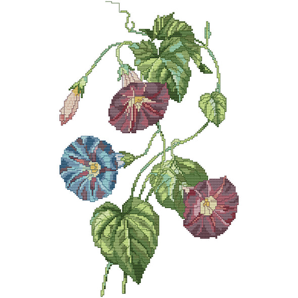 Flower  - Cross Stitch - 29x43cm