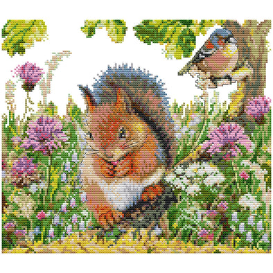 Animalatives  - Cross Stitch - 35x31cm